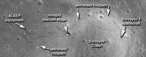 Снимки сделанные зондом LRO