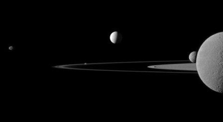 Квинтитет спутников Сатурна