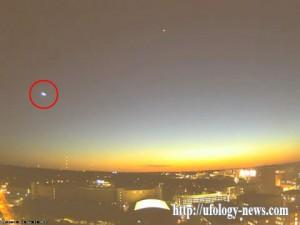 Яркий метеор в небе над Мэдисоном