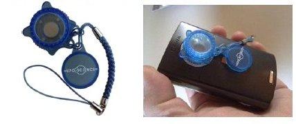 Дифракционная решетка для объектива камеры мобильника «SpectroKit®»