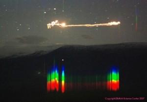 Спектр огней Хэссдалена