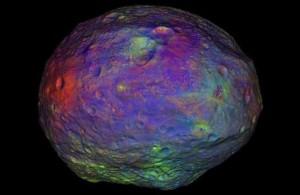 Минеральный состав астероида Веста