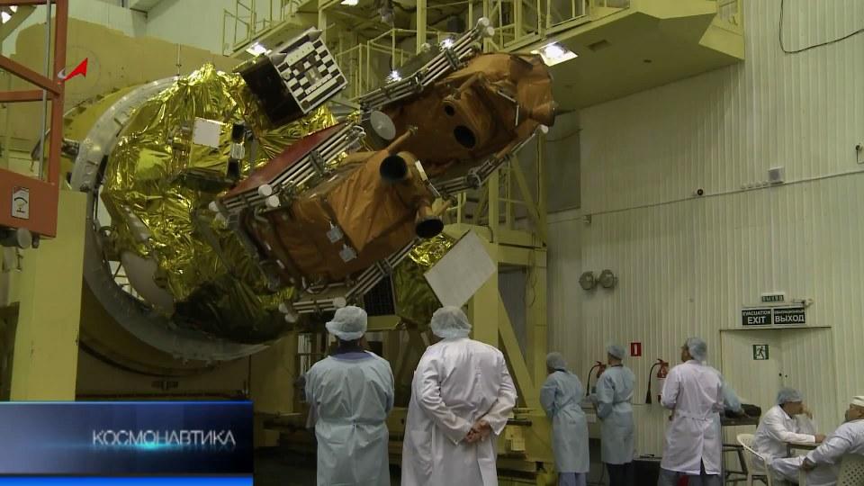«Близнецы на орбите», видеосюжет телестудии Роскосмоса