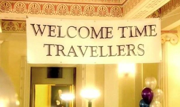 Добро пожаловать, путешественники во времени!