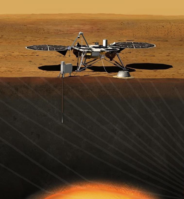 Роботизированная миссия на Марс «Insight» начнется в 2016 году