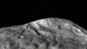 Модель поверхности астероида Веста