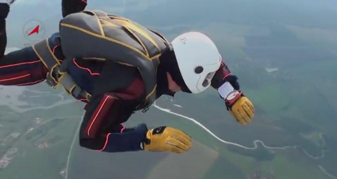 Специальная парашютная подготовка космонавтов