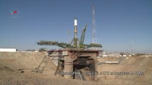 Вывоз и пуск РКН «Союз-У» с ТГК «Прогресс М17-М»