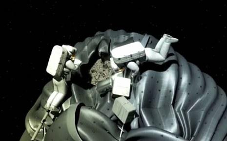 НАСА захватит астероид