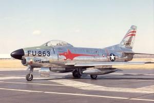 F-86D Sabre USAF