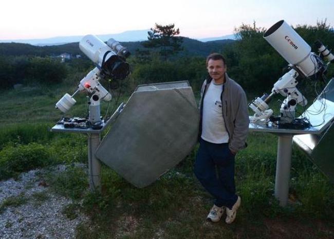 Украинский астроном-любитель Геннадий Борисов
