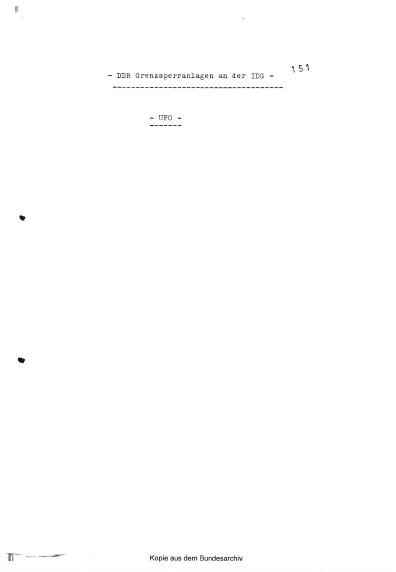 Первая страница досье BND