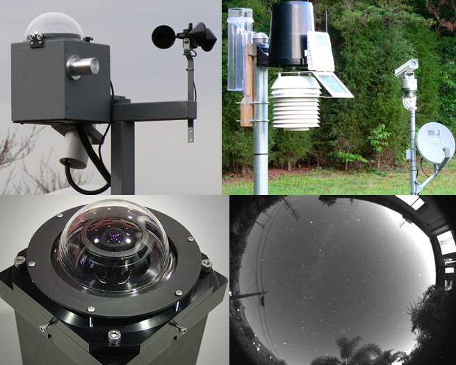 All Sky Cam применяющиеся в современной метеорологии также в своем роде СМК бюджетного класса