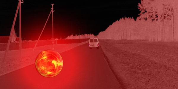 Реконструкция наблюдения в деревни Парохонск