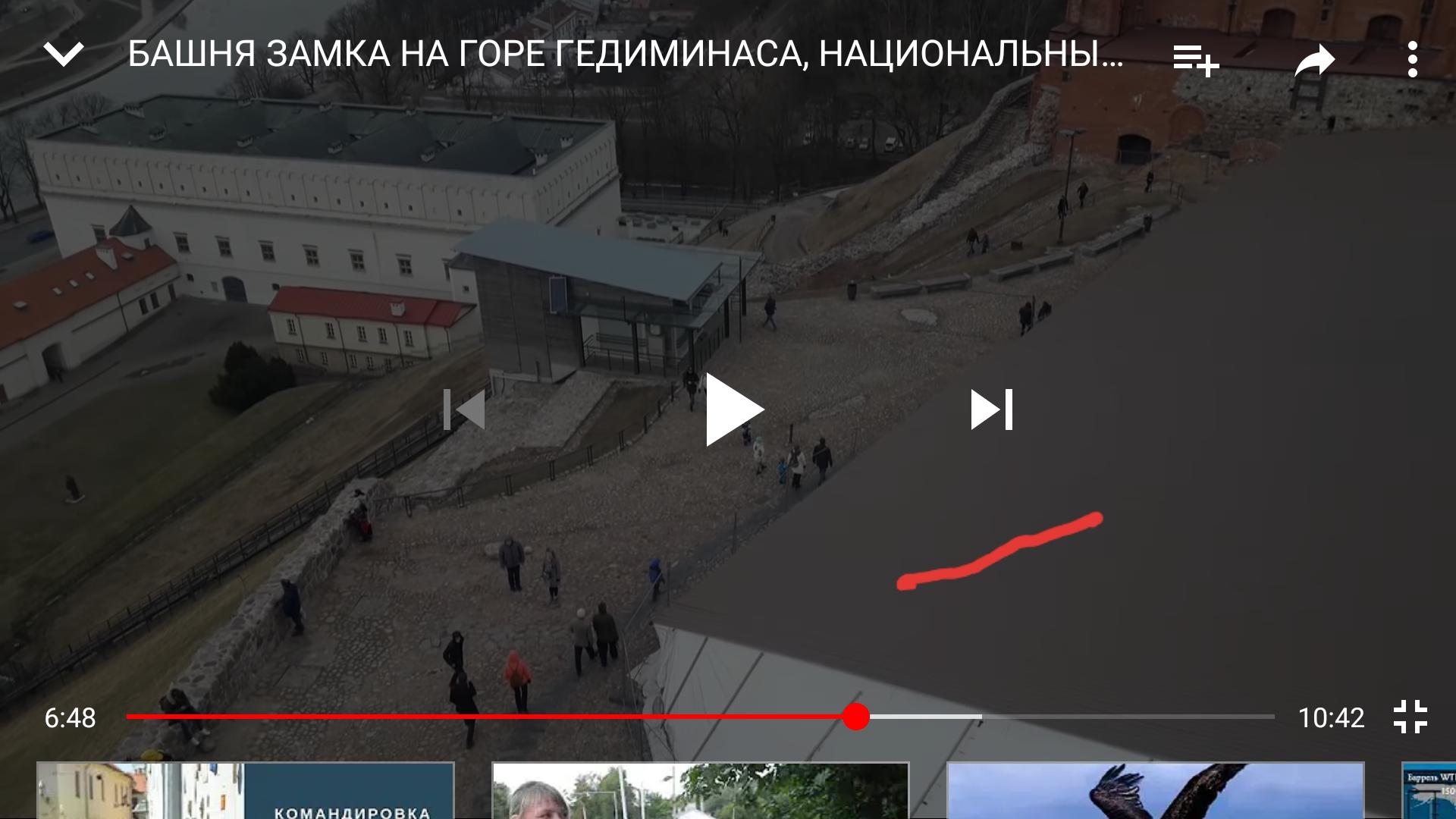 Кровля на территории музея